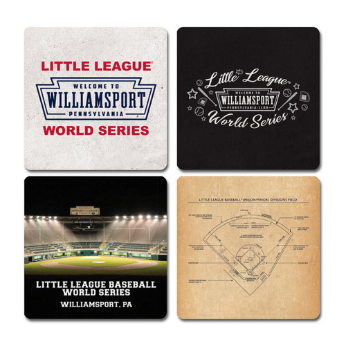 LL DRINK COASTERS 4PK WMSPT View Product Image