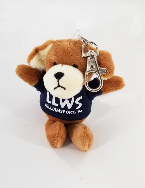 Dog Plush Keychain View Product Image