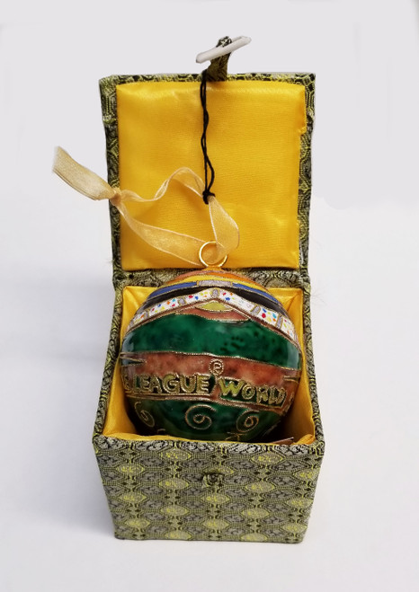 Lamade Sunset Cloisonne Ornament View Product Image