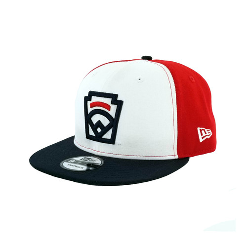 New Era Cap Little League Keystone Red, White, and Blue Snapback Adult View Product Image