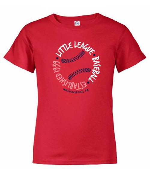 LLBB 1939 RED Circle Tee View Product Image