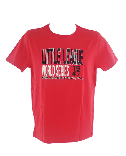 New Era Men's 1947 Red Tee View Product Image