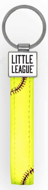Little League Softball Stitch Keychain View Product Image