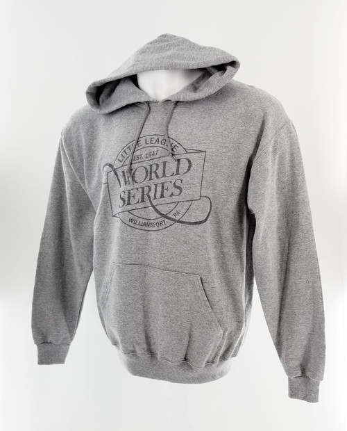 LLWS Script Gray Hoodie View Product Image