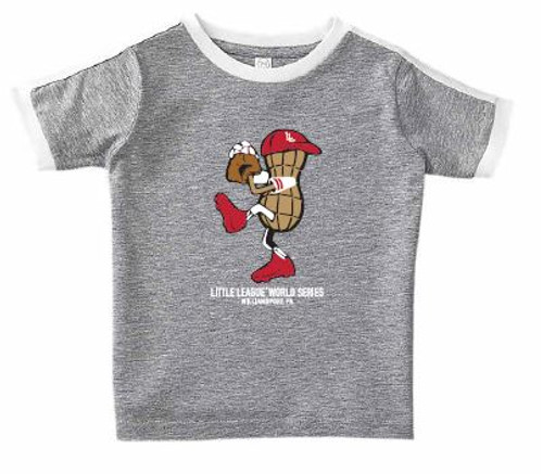 Toddler Pitching Peanut Tee View Product Image