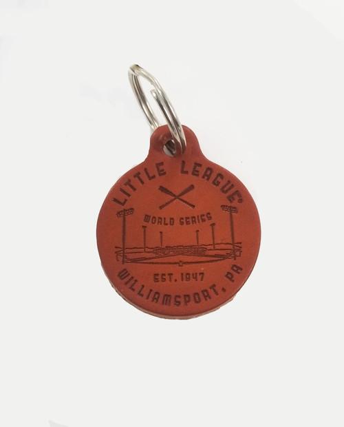 LLWS Stadium Leather Keychain View Product Image