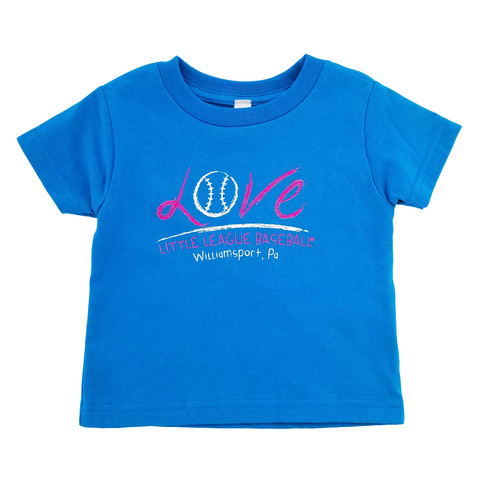 Love Little League Baseball Toddler Tee View Product Image