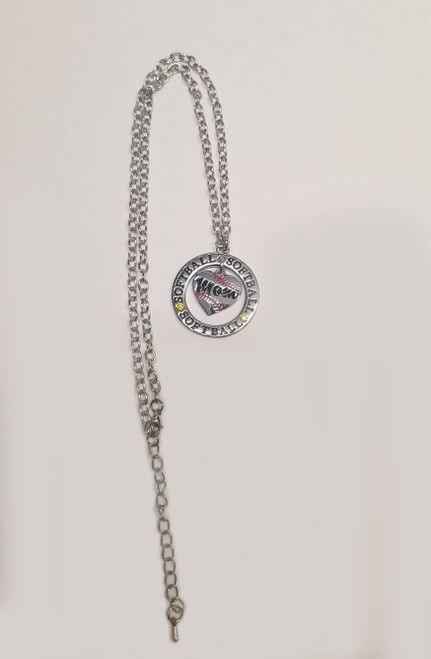 Softball MOM Necklace View Product Image