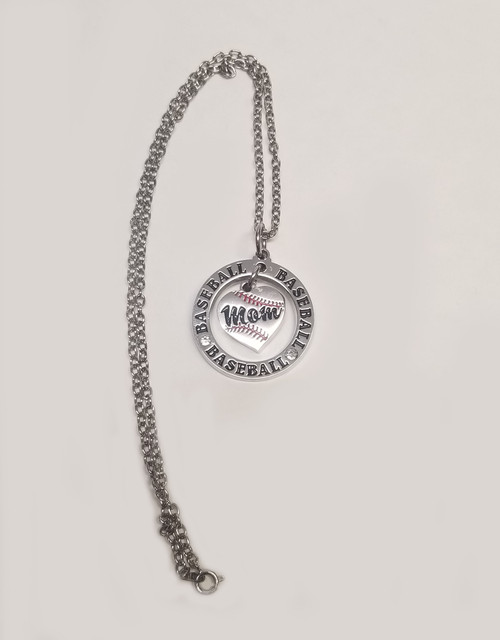 Baseball MOM Necklace View Product Image
