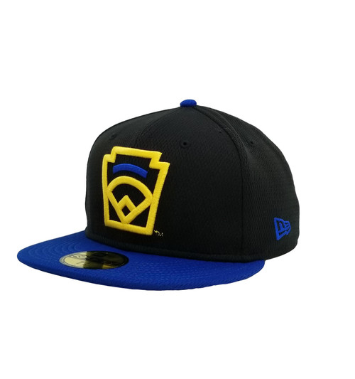 New Era On-Field 59FIFTY Royal Arch Black Fitted Cap View Product Image