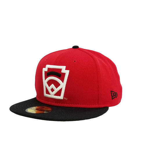 New Era On-Field 59FIFTY Black Arch Red Fitted Cap View Product Image