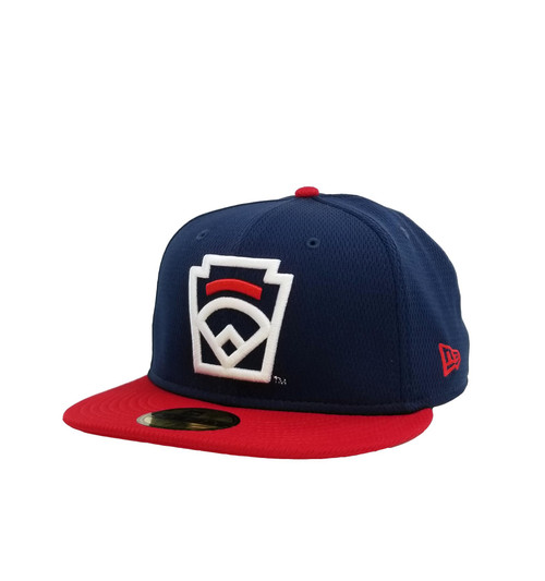 New Era On-Field 59FIFTY Red Arch Navy Fitted Cap View Product Image