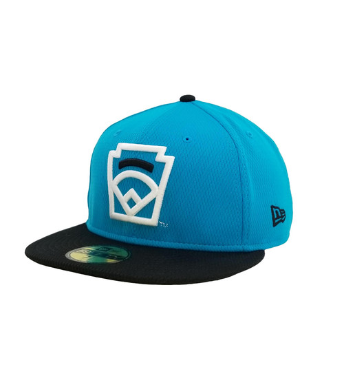 New Era On-Field 59FIFTY Black Arch Blue Fitted Cap View Product Image