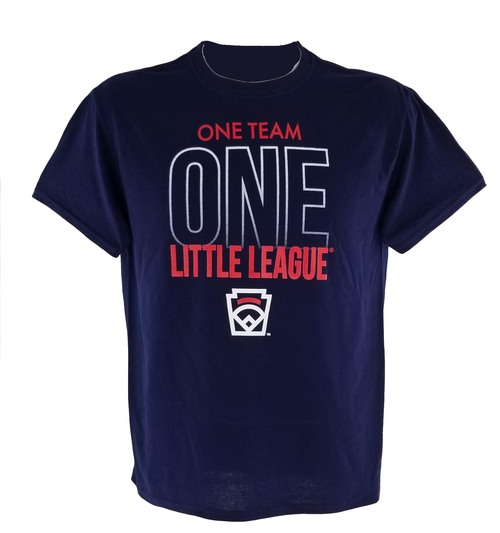 One Team One Little League Tee View Product Image