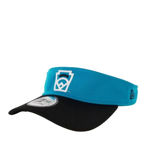 New Era Black Arch Blue Adjustable Visor View Product Image