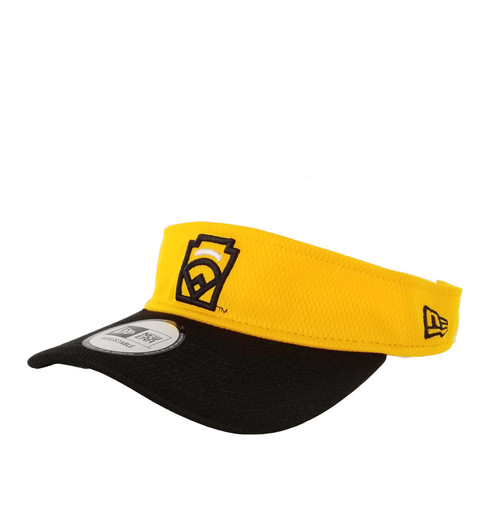 New Era White Arch Yellow Adjustable Visor View Product Image