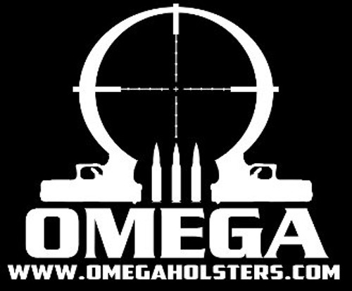 Omega Holsters Logo PVC Patch