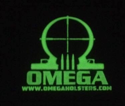Omega Holsters Glow  PVC Patch