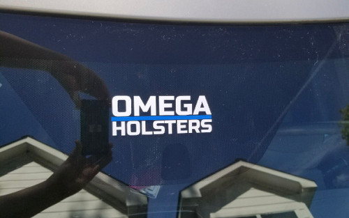 Thin Blue Line Omega Decals