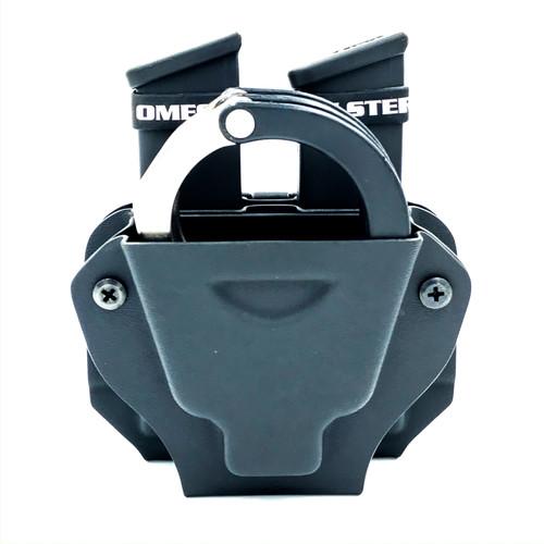 Dual Pistol Magazine/Single Handcuff Carrier Combo