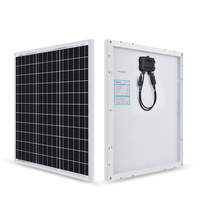 50W 12V 단결정 태양광 모듈