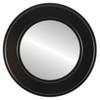 Flat Mirror - Montreal Circle Frame - Matte Black