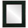 Flat Mirror - Paris Rectangle Frame - Hunter Green
