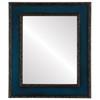Flat Mirror - Paris Rectangle Frame - Royal Blue