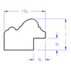 Jefferson Oval - Profile Drawing