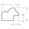 Jefferson Rectangle - Profile Drawing