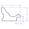 Rome Oval - Profile Drawing