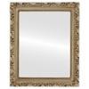 Flat Mirror - Rome Rectangle Frame - Silver