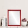 Lifestyle - Saratoga Rectangle Frame - Holiday Red