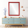Lifestyle 2 - Saratoga Rectangle Frame - Holiday Red