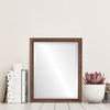 Lifestyle - Saratoga Rectangle Frame - Vintage Walnut