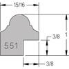 Hamilton Oval - Profile Drawing