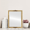Lifestyle - Athena Rectangle Frame - Gold Leaf