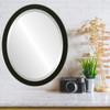 Lifestyle - Manhattan Oval Frame - Matte Black