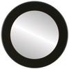 Flat Mirror - Avenue Circle Frame - Rubbed Black