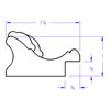 Versailles Rectangle - Profile Drawing