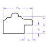 Santa Fe Oval - Profile Drawing