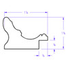 Rome Rectangle - Profile Drawing