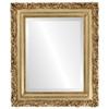 Beveled Mirror - Venice Rectangle Frame - Gold Leaf