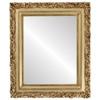 Flat Mirror - Venice Rectangle Frame - Gold Leaf