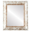 Flat Mirror - Chicago Rectangle Frame - Champagne Silver