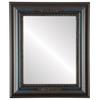 Flat Mirror - Boston Rectangle Frame - Royal Blue