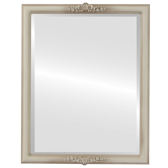 Beveled Mirror - Contessa Rectangle Frame - Taupe