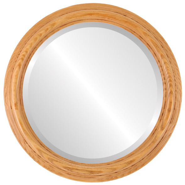 Beveled Mirror - Melbourne Round Frame - Carmel