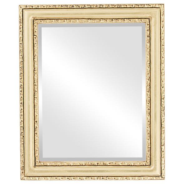 Beveled Mirror - Dorset Rectangle Frame - Gold Leaf