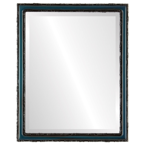 Beveled Mirror - Dorset Rectangle Frame - Royal Blue